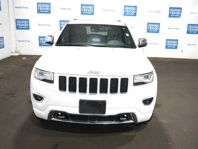 Pre-Owned 2015 Jeep Grand Cherokee Overland 4x4