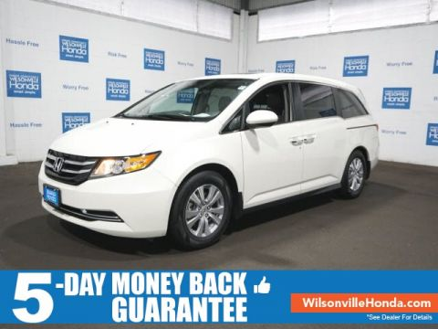 Certified Pre-Owned 2017 Honda Odyssey EX-L w/RES